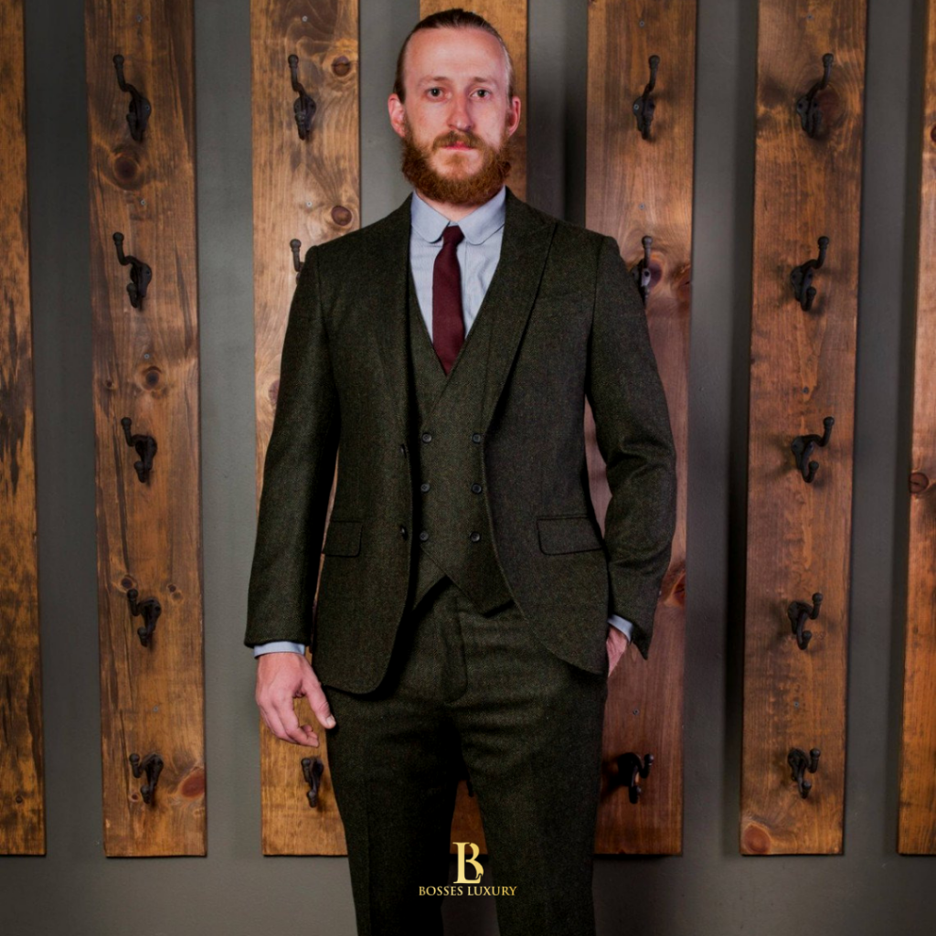 Worsted Suits Bosses Luxury